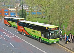 757 last day (or is it?) (Lost-Albion) Tags: bedfordshire greenline luton 757 4379 arrivatheshires vanhoolacron yj58fka