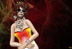 Colors (Wicca Merlin) Tags: new woman news art fashion pose hair blog 3d clothing model photographer modeling avatar formal style jewelry blogger sl secondlife runway couture modelpose hunt formalattire ln highfashion newrelease virtualworld newreleases modelposes femaleclothing posesion slfashion 3dpeople leezu slclothing slstyle modelingpose modelingposes finesmith huntgift silkenmoon huntprize fashionposes wiccamerlin femalewear metavirtual morganebatista fashioninpixels hmaem loordesoflondon therunwayperfecthunt trph runwayperfecthunt dahriel trph4 solideafoliesluxury
