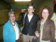 Phyllis Pacheco, Anne Valk, Susan Hradil, THE I WAS THERE PROJECT 2013. (Fox Point Oral History Project) Tags: pacheco valk hradi foxpointelementaryschool