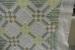 On Point, maed by Terry W. 2 (Lizzy Jo Quilts) Tags: quilting quilts machinequilting 9patch longarmquilting