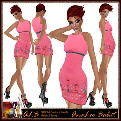 ALB GRETA dress + heels - group gift MAI 2013 by AnaLee Balut - ALB DREAM FASHION (AnaLee Balut) Tags: design shoes vanity sl secondlife va alb hautecouture bohemian freebie freeclothes meshdress sexydesign womenfashion slfreebie vanityhair sldesign secondlifeclothes secondlifefreebies sldesigner albdreamfashion tabatajewell slshoes meshgown annaleebalut analeebalut albfashion meshboots monthfreebie slboho secondlifeheels slwear monthfree albdreamfashiongowns monthfreesl albgowns slbohemian albgroupgift analeedesign analeefashion albmonthfree heelssecondlifefree