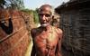 Happy farmer (Wameq R) Tags: old india man rural photoshop canon day 7d farmer 1022mm hdr lightroom allahabad patna photomatix blinkagain hdrefex