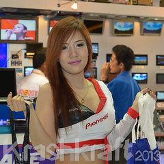 Pioneer | Motor Show (krashkraft) Tags: coyote beautiful beauty thailand pretty bangkok gorgeous autoshow motorshow 2012 racequeen gridgirl boothbabe krashkraft