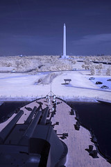 IR San Jicinto from the Texas (badchess) Tags: monument san ship texas battle infrared battleship jacinto r72 bb35