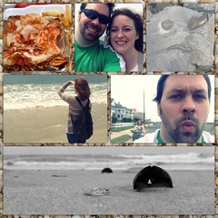 5/18/13 #roadtrip #capemay #seafood #beach #sadrock #bikes (sacornwell) Tags: beach bikes roadtrip seafood capemay sadrock uploaded:by=flickrmobile flickriosapp:filter=nofilter