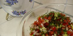 Pico De Gallo with fennel and cucumbers for post (Terre's Photos) Tags: yoga exercise tomatoes broccoli garlic nia salsa workout cilantro cpt piyo pilates picodegallo cardiodance chipsandsalsa fennelbulb chunkysalsa terrepruitt sanjosenia danceexercise wwwhelpyouwellcom niasanjose niateacher sanjoseniaclasses sanjoseworkout sanjoseexerciseclasses danceworkout wwwniasanjosecom wwwterrepruittcom sanjoseniateacher niaclass roostersbeak danceexerciseclass sanjosecommunitycenters sanjosecityniaclasses niabluebelt cucumbersandfennel