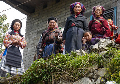 Goodbye and many thanks for your sympathy  ... (Rita Willaert) Tags: china tribal guizhou miao minority southwestchina minderheden bijie foursealmiao villageniuchangba