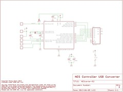 """NESVerter 2.0 Schematic • <a style=""""font-size:0.8em;"""" href=""""http://www.flickr.com/photos/61091961@N06/8959343476/"""" target=""""_blank"""">View on Flickr</a>"""