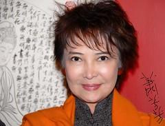 Super star Josephine Siao Fong-Fong  (travelhaha) Tags: hongkong moviestar  hongkongphotos