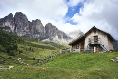 Oberhalb von Wolkenstein (georg19621) Tags: italien sella