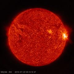 NASA's Solar Dynamics Observatory Sees Trio of Mid-Level Flares (NASA's Marshall Space Flight Center) Tags: nasa nasasmarshallspaceflightcenter nasamarshall goddardspaceflightcenter nasasgoddardspaceflightcenter nasagoddard sdo solardynamicsobservatory solarsystem spaceweather sun