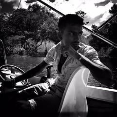 #Hipstamatic #JohnS #Aristotle #ceylon #srilanka #colombo #fishery #sunday #fishing #blackandwhite #portrait (Bruno Abreu) Tags: instagramapp square squareformat iphoneography uploaded:by=instagram