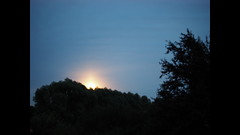 don't watch, it's totally boring - 20 minutes in 20 seconds (Simple_Sight) Tags: moon mond timelapse moonrise mondaufgang zeitraffer