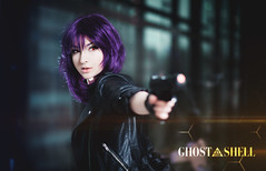 Motoko Kusanagi - Grimalkin (Niew Photography) Tags: babe motoko kusanagi anime animecosplay cosplay cosplayer costumeplay classics cyborg section9 photoshoot photography lensflare flare sexy soldier warrior ghost shell ghostintheshell gits