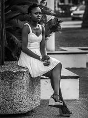 Jolie Kafrine (totofffff) Tags: street 2 white black france film festival alpes french riviera noir cannes 10 d mark olympus ii e om blanc maritimes croisette mditerrane