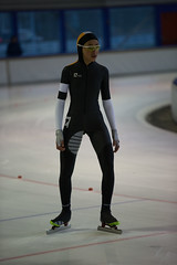A37W6962 (rieshug 1) Tags: speedskating schaatsen eisschnelllauf skating nkjunioren knsb nkjuniorenallroundafstanden afstanden allround 50010001500massstart demeent alkmaar sportcomplexdemeent juniorenc ladies dames 500m