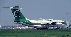IL-76 | SU-OAB | AMS | 19920522 (Wally.H) Tags: ilyushin 76 il76 suoab ams eham cairochartercargo amsterdam schiphol