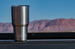 tumbler30 (m_parente) Tags: yeti rambler truck outdoor utah mountains landsape sun