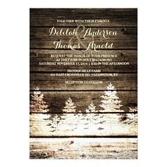 (Rustic Barn Wood Pine Trees Winter Wedding Invite) #BarnWedding, #BarnWoodWedding, #EvergreenTreeWedding, #PineTreeWedding, #RusticBarnWoodWedding, #RusticWedding, #VintageWedding, #WinterWedding is available on Custom Unique Wedding Invitations store ht (CustomWeddingInvitations) Tags: rustic barn wood pine trees winter wedding invite barnwedding barnwoodwedding evergreentreewedding pinetreewedding rusticbarnwoodwedding rusticwedding vintagewedding winterwedding is available custom unique invitations store httpcustomweddinginvitationsringscakegownsanniversaryreceptionflowersgiftdressesshoesclothingaccessoriesinvitationsbinauralbeatsbrainwaveentrainmentcomrusticbarnwoodpinetreeswinterweddinginvite weddinginvitation weddinginvitations