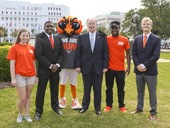 341A0001 (Governor Robert Bentley) Tags: montgomery alabama usa school spirit swac ncaa auburn aubie blaze dragon uab cocky gamecock jacksonville freddie the falcon montevallo north west troyuniversity aum university south uah state athens