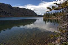 Adams Lake (Jeff Mitton) Tags: lake mountain wall adamslake whiteriverplateau landscape colorado reflection water scenic earthnaturelife wondersofnature