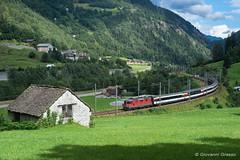 SBB CFF FFS - QUINTO (Giovanni Grasso 71) Tags: svizzera re44 sbb cff ffs ferrovie federali svizzere nikon d610 giovanni grasso locomotiva elettrica maffei quinto ticino