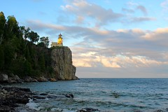 Split Rock Lighthouse (Piedmont Fossil) Tags: splitrock minnesota lighthouse lake superior rock cliff headland shore sky
