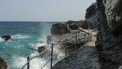 Pathway on the Rocks (George Zarkadis) Tags: milopotamos pelio pilio  d5200 sigma1750