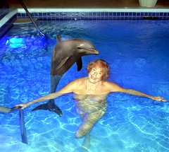 2940688866_1d9d_o (absindopfer1960) Tags: annthetravelslut thetravelslut travelslut water swim pool nude naked skinnydip dolphin porpoise photoshop photoart hedonism hedonismresort jamaica blue