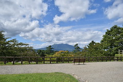 Mount-Iwaki viewed from Hirosaki-Park (junjunohaoha) Tags: aomori hirosaki japan nikon d5300 iwakiyama iwakimountain