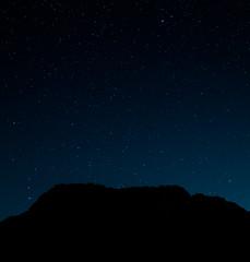 Dark mountain (skytree&kuan) Tags: star summer ricoh gr