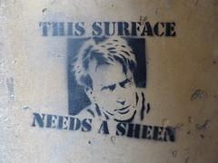 This surface needs a Sheen, Bristol (duncan) Tags: bristol stencil sheen charliesheen
