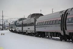 AMTK GE P42DC #14 #76, Silver Lariat & Silver Solarium, AMTK Amfleet #82563 #82618 (busdude) Tags: amtk amfleet 82563 82618 amtkgep42dc1476 silverlariatsilversolarium amtkamfleet8256382618 california zephyr railcar charters californiazephyrrailcarcharters silver lariat solarium silverlariat silversolarium amtrak alki tours snow train alkitourssnowtrain leavenworth