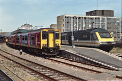 150265 at Bristol Temple Meads (Railpics_online) Tags: bristoltemplemeads 150265 class150 sprinter dmu dieselmultipleunit passenger train diesel multipleunit railway railcar uk