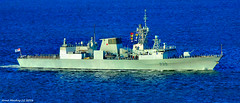 Scotland river Clyde NATO fleet Canadian navy frigate HMCS Charlottetown FFH 339 6 October 2016 by Anne MacKay (Anne MacKay images of interest & wonder) Tags: scotland river clyde nato fleet canadian navy frigate hmcs charlottetown ffh 339 warship xs1 6 october 2016 picture by anne mackay