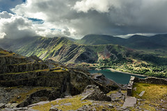 Dinorwic Quarry - Llanberis Pass (Geoff Moore UK) Tags: quarry landscape outdoors mountian slate wales industry historic trail walking hiking adventure exploration backpacking travel