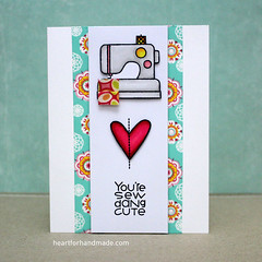 Paper Smooches stamps (Heart for Handmade) Tags: papersmooches washi coloring handmadecard