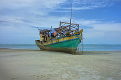 (Michaela Birchall) Tags: thailand seascape beach holiday boat