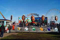 DSC02245 (A Parton Photography) Tags: fairground rides spinning longexposure miltonkeynes fireworks bonfire november cold