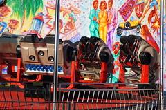 DSC02231 (A Parton Photography) Tags: fairground rides spinning longexposure miltonkeynes fireworks bonfire november cold