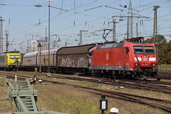 DB 185 118 Basel Bad (daveymills31294) Tags: db 185 118 basel bad deutsche baureihe traxx cargo