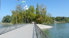 Verbindungsbrücke zur Insel Mainau
