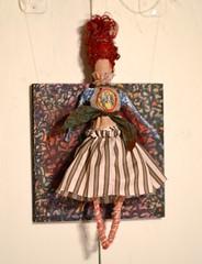 firestarter, panel#6 (Danny W. Mansmith) Tags: vision2020 burienwashington burienarts fundraiser november 2016 dannymansmith removablefigure handmade oneofakind doll figure