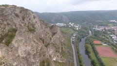 Blick von der Bastei auf den Rotenfels und die die Nahe