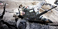 The Fall of Man (Ollie Smith 1993) Tags: afghanistan slr history children soldier army death pain blood bush war icons faces humanity iraq terror northernireland combat medic suffering trauma prosthesis kneepads ptsd sa80 combatboots minimi pastandpresent comparisons 556 762 bodyarmour thetroubles