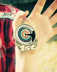 1st (im thinking outloud) Tags: hand award medal archery archer welldone 1stplace greatjob recurve