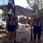 Panorama Spring Series 2013 - U18 Slalom Podium - Emma King 1st, Alix Wells 3rd PHOTO CREDIT: Gregor Druzina