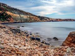 Malta --- Mgiebah (Drinu C) Tags: longexposure sea seascape nature landscape seaside waves sony malta dsc hx100v mgiebah adrianciliaphotography