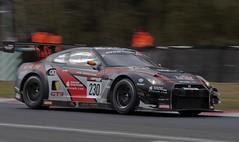 Nissan GTR racing. (foto.pro) Tags: park car japan race nissan lap motor circuit gtr oulton