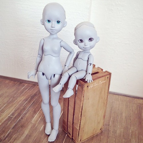Finally primed an ready to travel :3 #doll #bjd #artdoll #handmade #ateliermomoni